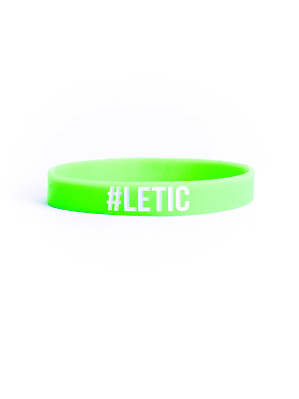 LETIC MEN WRISTBAND #LETIC NEONGREEN 02